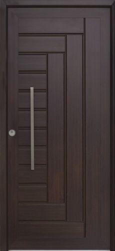 puertas modernas exteriores hierro madera y crital - Google Search