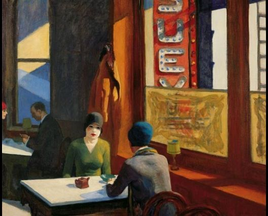 Edward Hopper Room In New York Meaning
