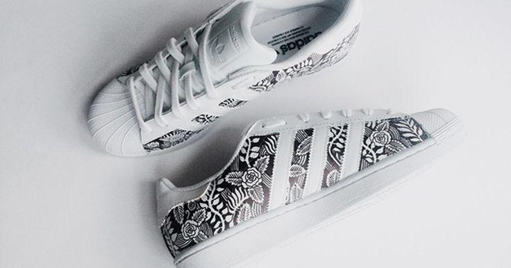 Photos adidas superstar femme blanche et noir page 10
