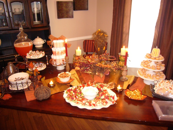 Fall Baby Showers ~ Fall baby shower ideas pinterest