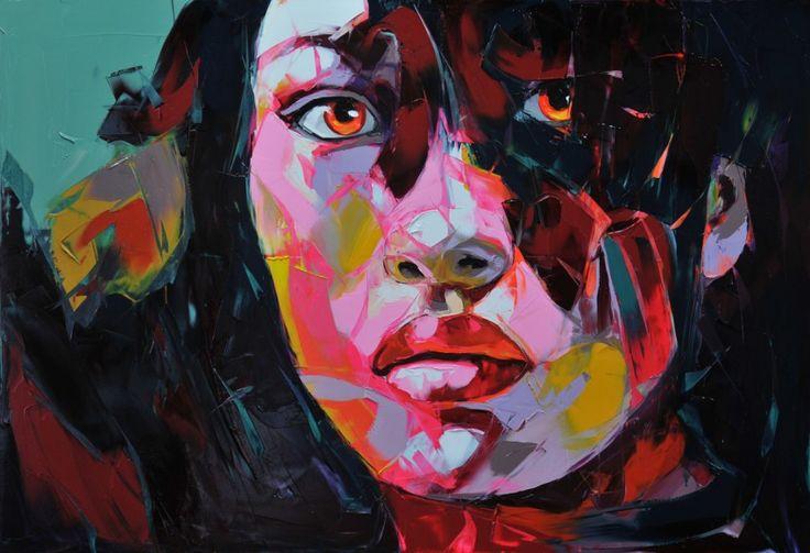 Françoise Nielly: Oil Paintings, François Nielly, Nielly Francois, Francois Nielly, Art, Masks, Francois Neilly, Françoise Nielly, Francoise Nielly