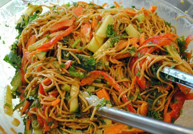 Barefoot Contessa's Crunchy Noodle Salad