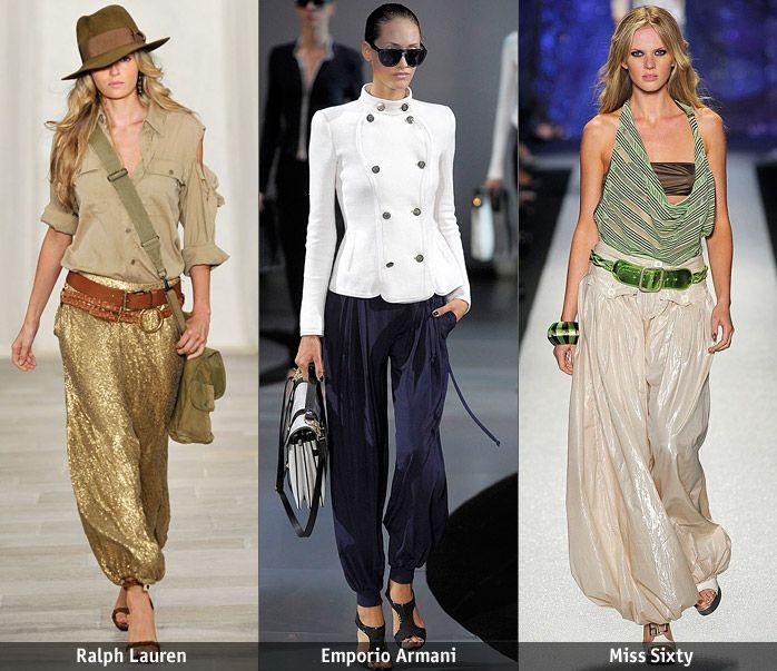 Четыре выкройки популярных моделей брюк! » Женский Мир
