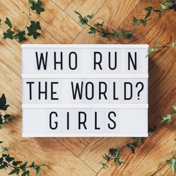 who run the world? girls