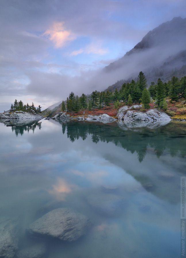 Russia, Altai Republic, Kuyguk lakes