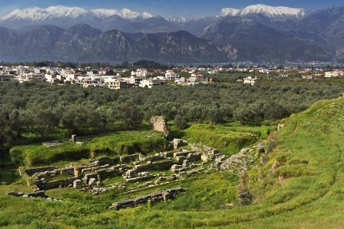 Sparta -  Photo Caption: Historical city of Sparta, Greece.    Photo by Panagiotis Karapanagiotis/Dreamstime.com