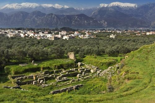 Sparta -  Photo Caption: Historical city of Sparta, Greece.    Photo by Panagiotis Karapanagiotis/Dreamstime.com