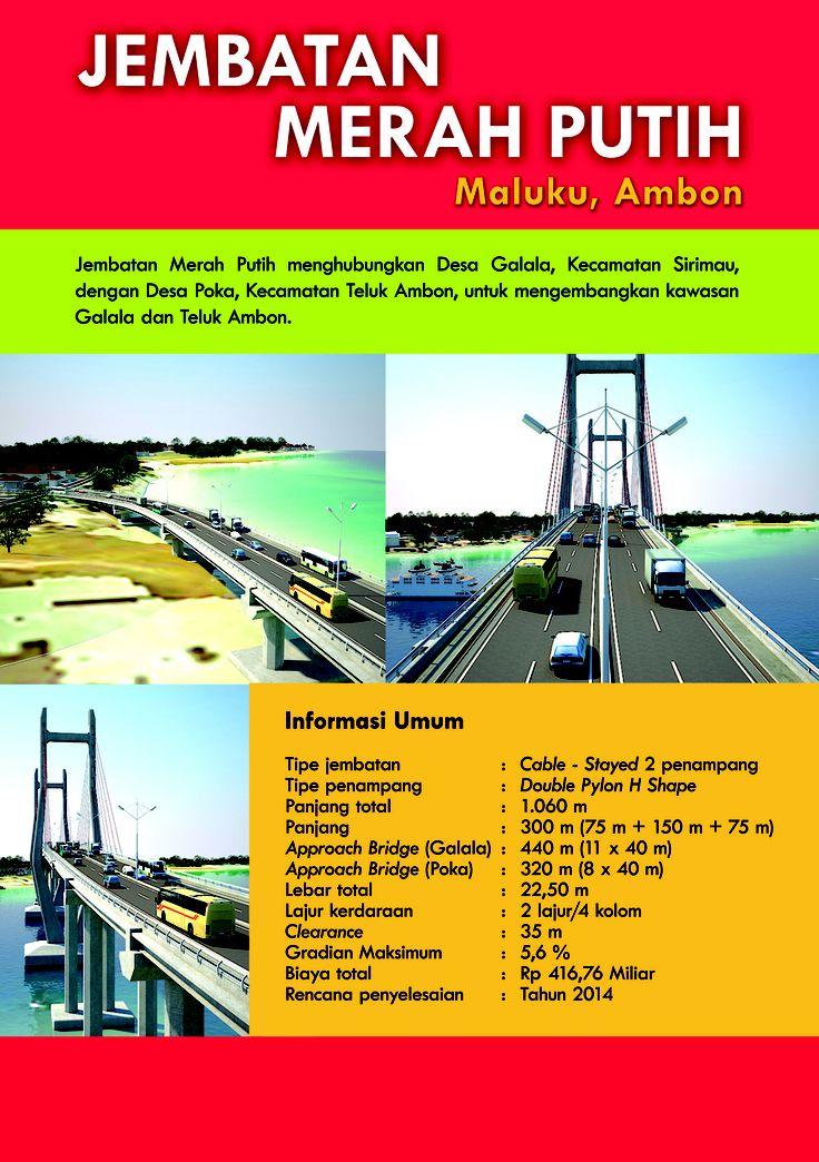 Jembatan Merah Putih  Maluku, Ambon