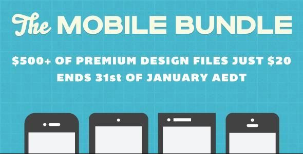 If you love to build mobile apps and websites,you shall love this mobile bundle!!.Envato Annocued their mobile bundle - $500 worth of items for only $20...  http://www.frip.in/the-envato-mobile-bundle-500-worth-of-goodies-only-for-20/#