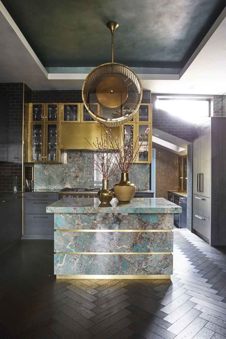 Trilbey Gordon Interiors' style is a madcap mixture of Hollywood regency, Art De…