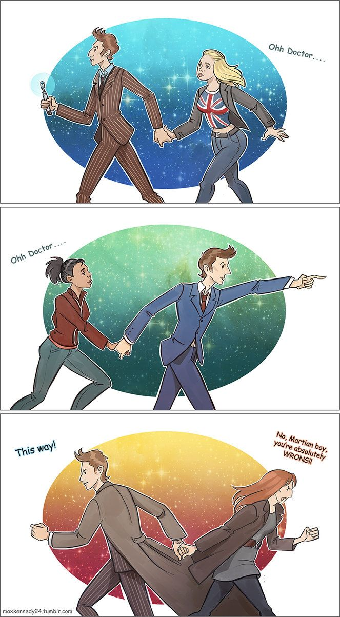 Doctor and his companions... so true...