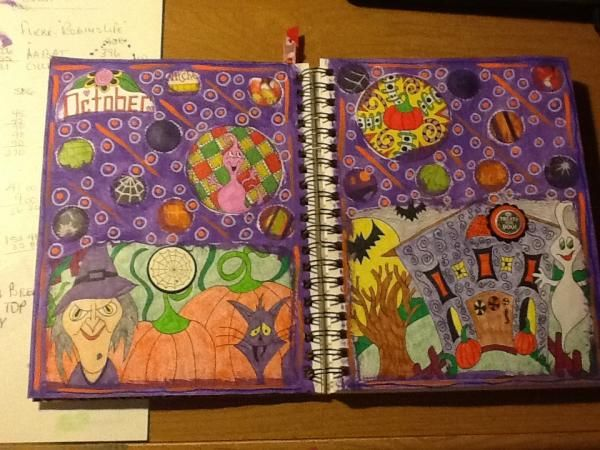Atcsforall Gallery Art Journal Pages