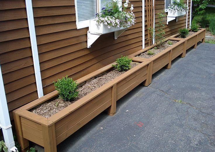 17 best ideas about planter box plans on pinterest. Black Bedroom Furniture Sets. Home Design Ideas