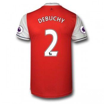 Arsenal 16-17 Mathieu Debuchy 2 Hemmatröja Kortärmad  #Billiga  #fotbollströjor