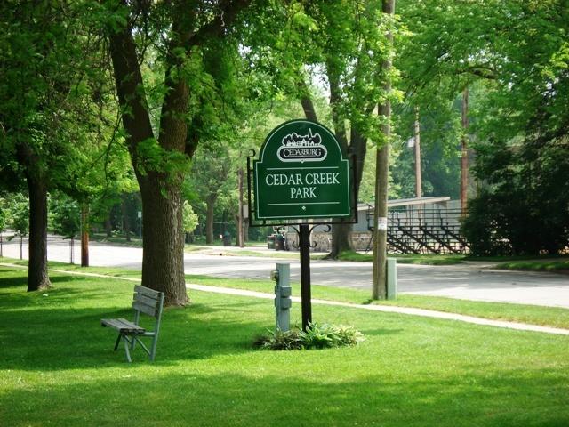 Cedar Creek Dog Park Kelowna