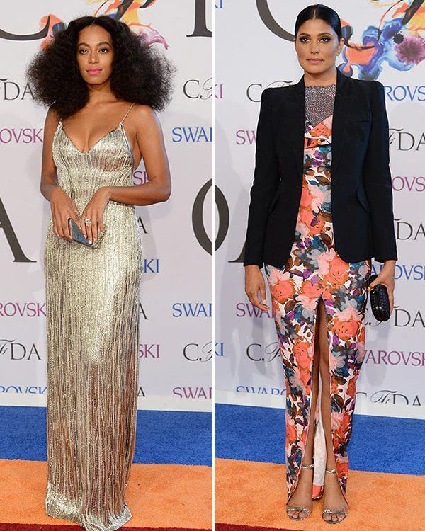 Solange Knowles & Rachel Roy Face Off At CFDA Awards After Jay Z Fight