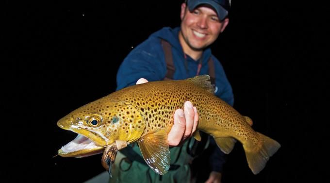 17 best images about shing on pinterest for Trout fishing at night