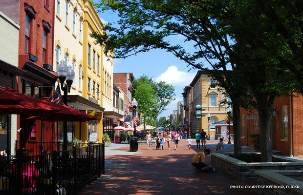 A History Lover's Guide to the Shenandoah Valley --Old Town Winchester is home to the vibrant Loudoun Street Pedestrian Mall, which earned a place on the National Register of Historic Places ...