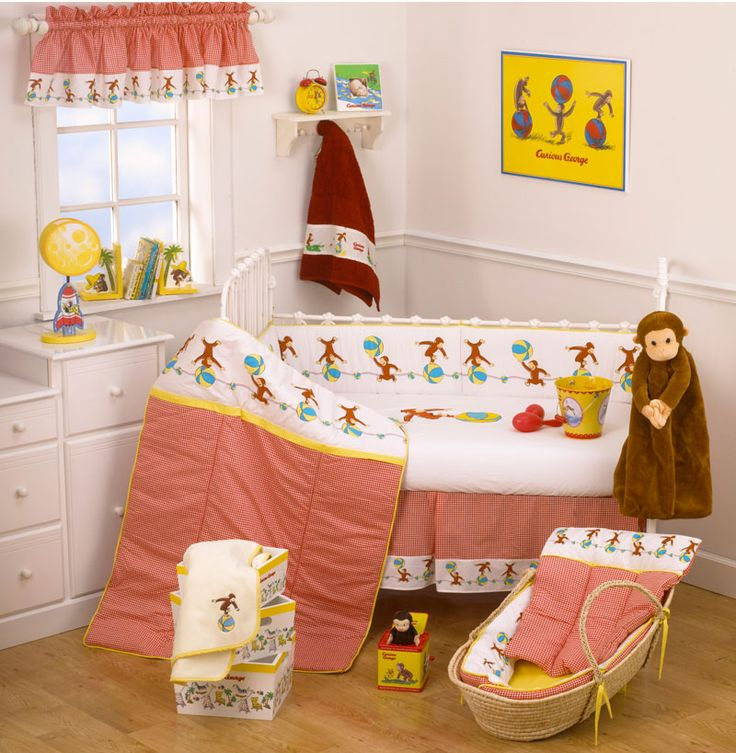 curious george themed nursery i love this for a baby boy or girl
