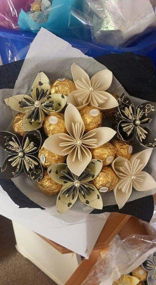 Ferrero rocher bouquet …