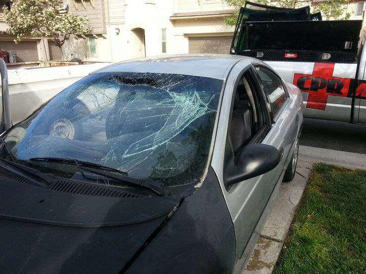 11 best Broken Auto Glass images on Pinterest Auto glass, Glass