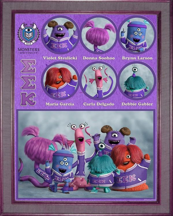 Monsters University Fraternity EEK