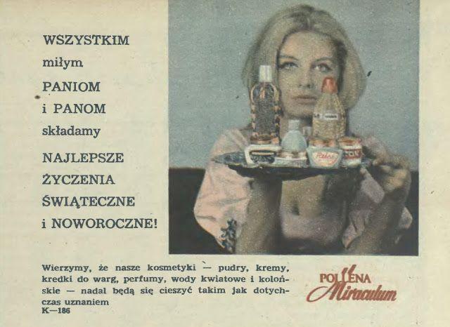 Atqa Beauty Blog :: Najlepsze świąteczne. Reklama prasowa, 1970.