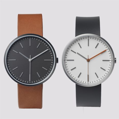 Limited edition Uniform Wares 104 Series arrives at Dezeen Watch Store