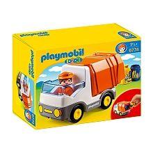 Playmobil - Camion poubelle 1.2.3 (6774)