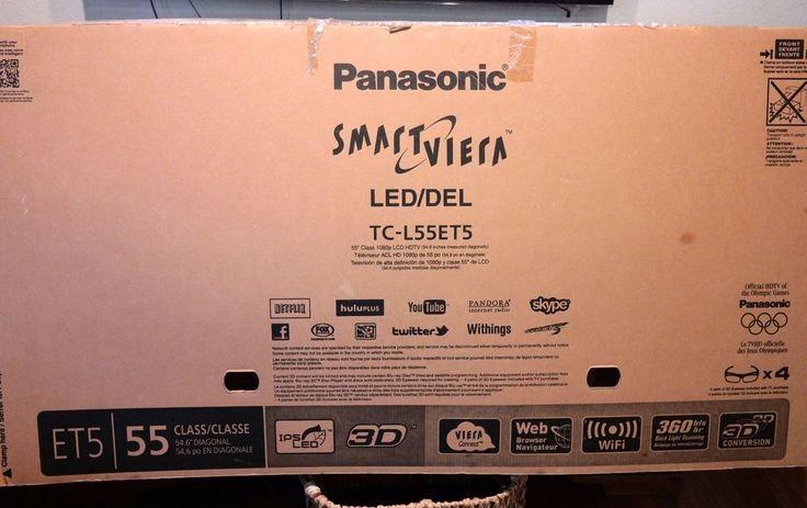 Panasonic VIERA TC-L55ET5 55-Inch 1080p 120Hz 3D Full HD IPS LED-LCD TV