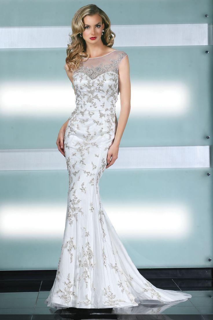 8 best Simone Carvalli images on Pinterest | Wedding frocks, Short ...