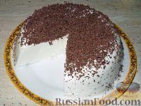 Фото к рецепту: Торт-желе «Птичье молоко»