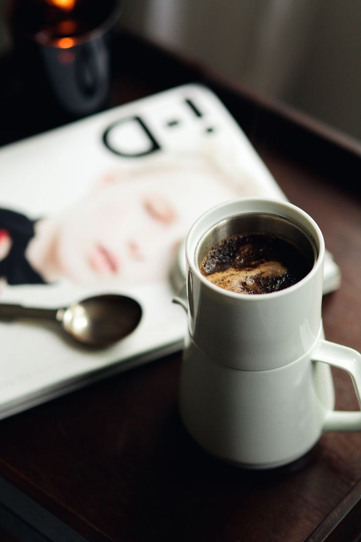 Morning Routine | The Transatlantic featuring our Faro coffee maker from Japan