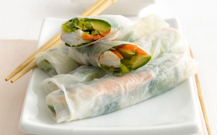 Fresh, light and packed full of goodness, these Vietnamese rice paper rolls are beautiful filled with tender crab meat and creamy avocado. Serve with a fragrant Asian soy-lime dipping sauce for a perfect Summer lunch.