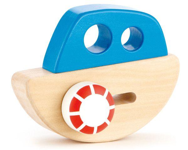 Little wooden ship toy | Lucas loves cars