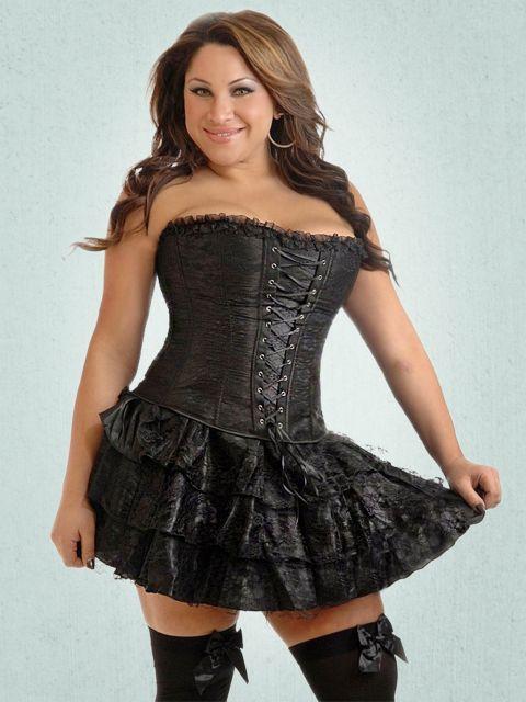 Plus Size Corset Outfit