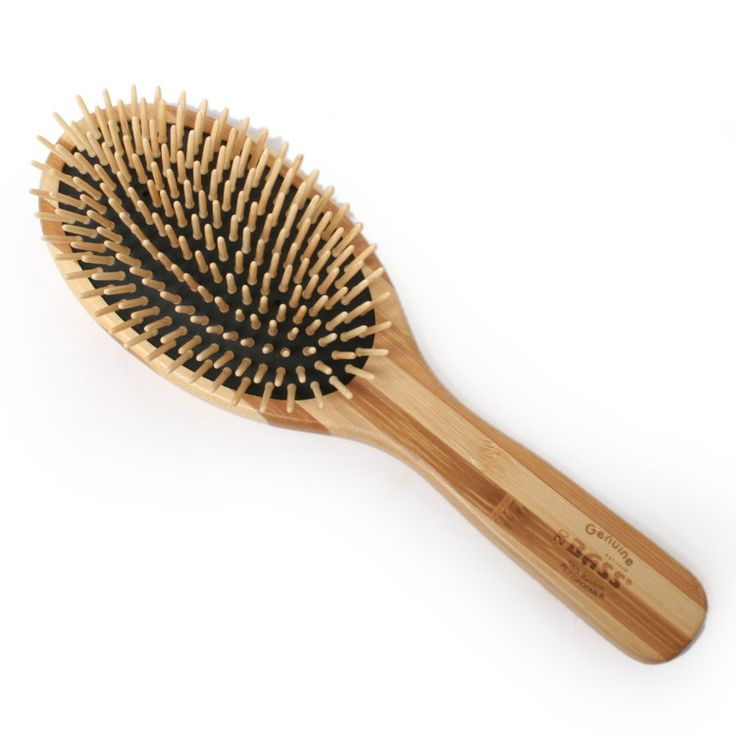 bass wooden oval brush The best thing for your hair ever!!!