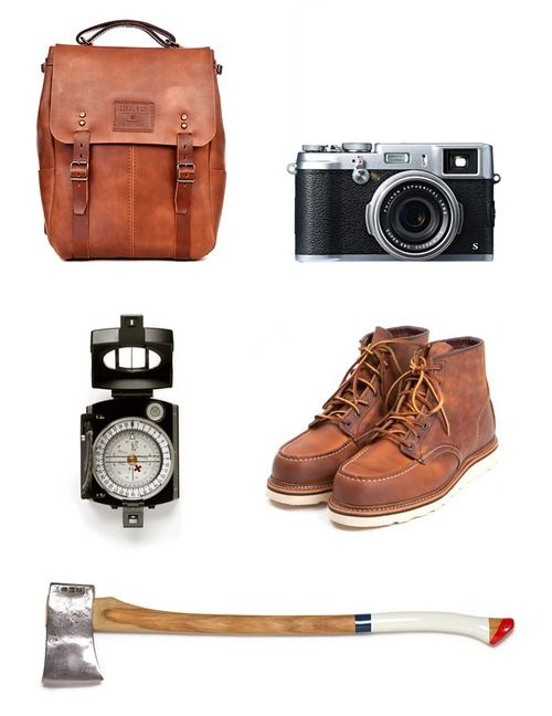 Ideal & Co Adventure Kit with Fujifilm, Red Wing and Best Made Company!
