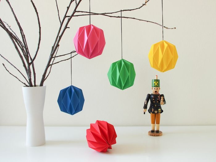 origami lantern ball instructions