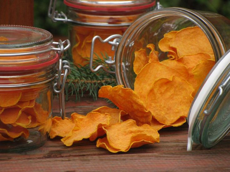 Chips - pumpkin