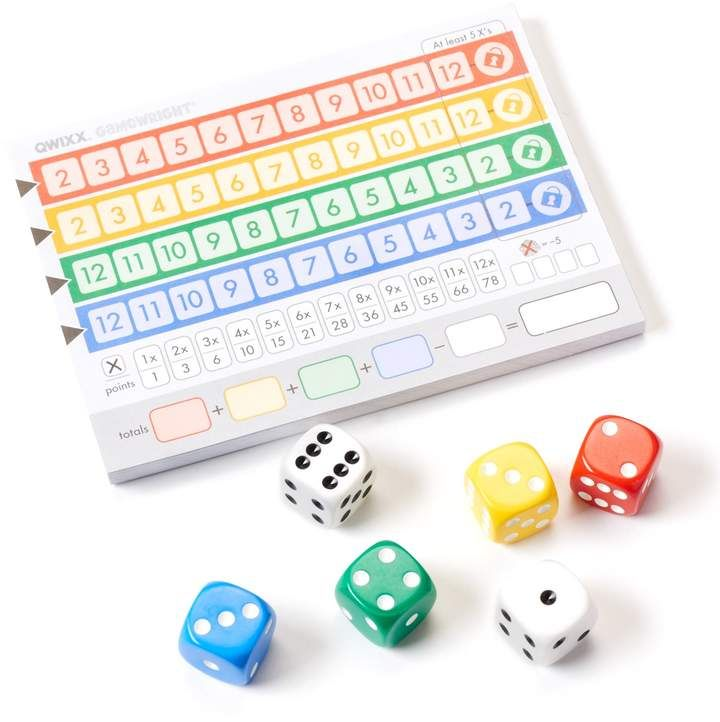 Ceaco Quixx Game Dice Game Rules Games Decision Making Skills