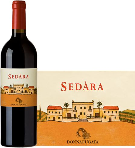 Donnafugata 2010 Sedàra -  fresh and appealing red wine, with good structure and persistence. On the nose revels intense notes of red fruit on a background of spices and mineral notes. +560300 SPEC