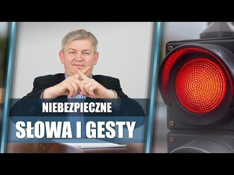 Niebezpieczne słowa i gesty, czyli czego unikać w rozmowie | Krzysztof Sarnecki - YouTube