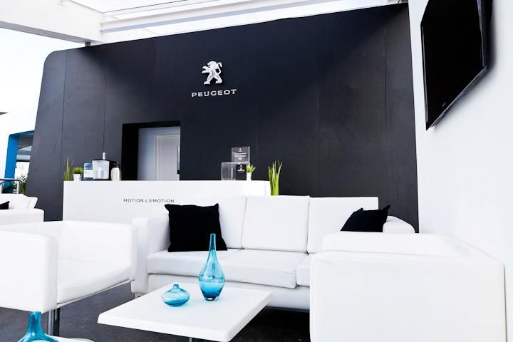Peugeot Exhibition Stand by Sovereign Exhibitions for Goodwood Festival Of Speed