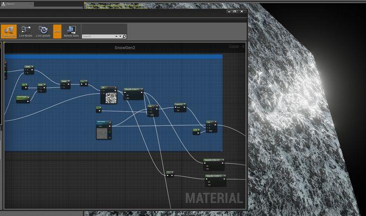 Unreal Engine 4 Snow tutorial