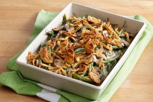 Better-than-Ever Green Bean Casserole recipe - You can't go wrong with this tasty classic at your Easter meal.
