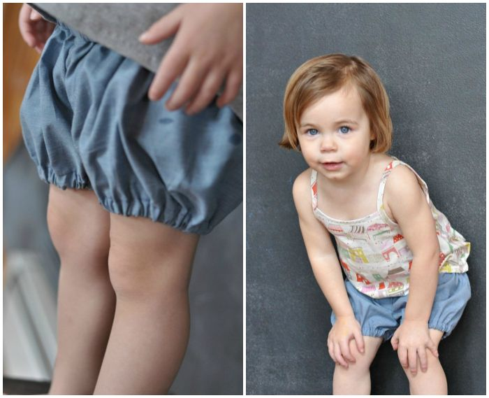 sewing: bubble shorts tutorial and Hosh Pants || imagine gnats