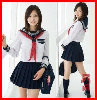 2015 neue heiße dame kostüm sexy sommer stil japan japanische schuluniform cosplay anime girl dienstmädchen seemann lolita dressf45(China (Mainland))