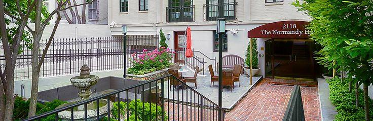 Washington DC Dupont Circle Hotel - The Normandy Hotel