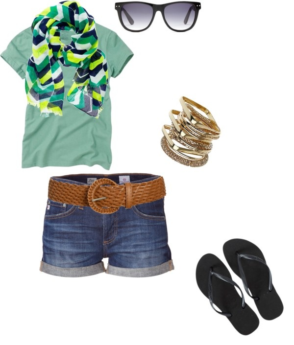 Untitled #55, created by sarahannabelle on Polyvore: Black Belt, Casual Styles, Summerrrr Outfittt, Summer Outfits